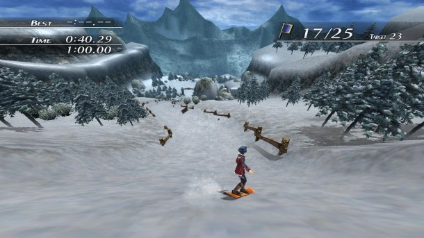 Trails of Cold Steel II | Snowboarding