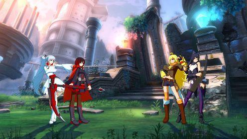 BlazBlue Cross Tag Battle RWBY in-game