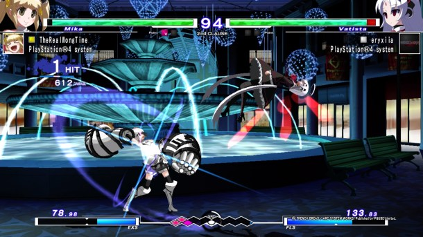 Under Night In-Birth Exe:Late[st] | In-game spectating