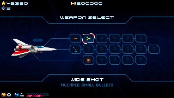 Super Hydorah | Weapon Select