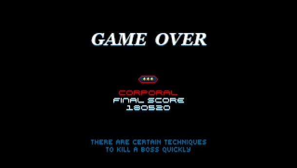 Super Hydorah   Game Over