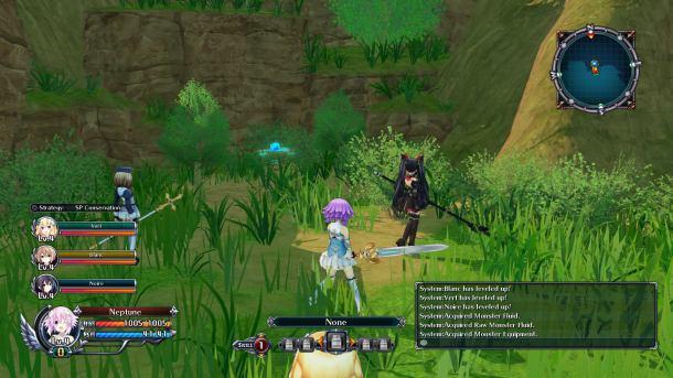 Cyberdimension Neptunia 4 Goddesses Online | Controls