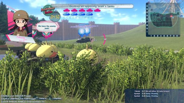 Girls Und Panzer: Dream Tank Match | Ambush