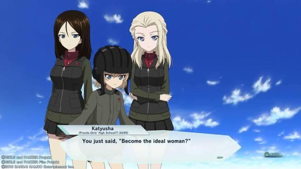 Girls Und Panzer Dream Tank Match | Katyusha Woman