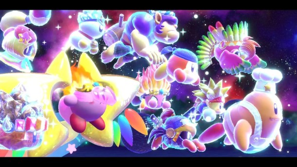 Kirby Star Allies | Space Allies
