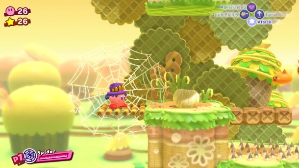 Kirby Star Allies | Spider Ability