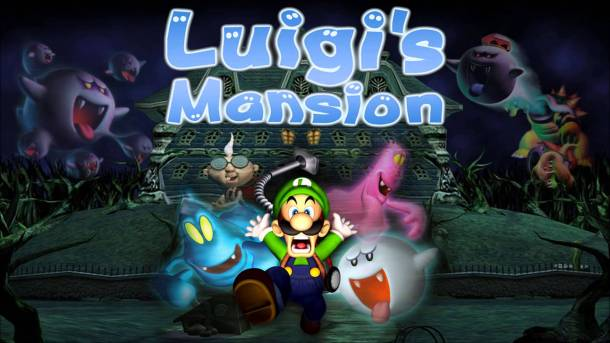 Luigi's Mansion | Official Art
