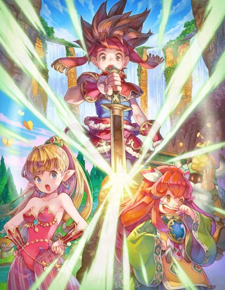 Secret of Mana | Boxart