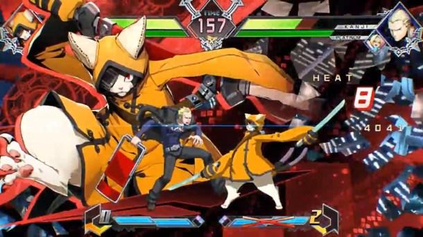 BlazBlue Cross Tag Battle Jubei Distortion skill