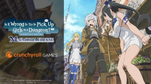 DanMachi: Memoria Freese | Visual