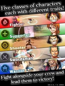 One Piece Bounty Rush | Classes