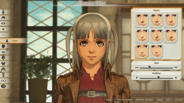 Attack on Titan 2 | Character creator