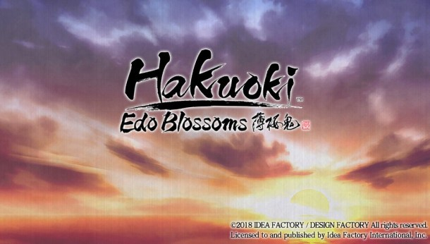 Edo Blossoms | Title Card