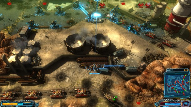 X-Morph: Defense | Enemies stream in