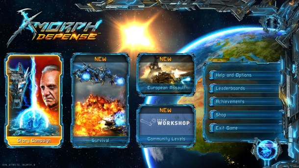 X-Morph: Defense | Game Modes
