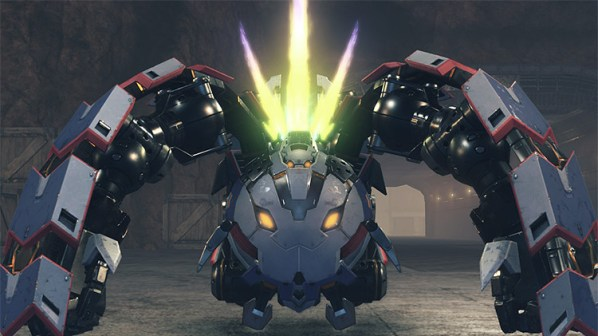Xenoblade Chronicles 2 Poppi Buster in-game