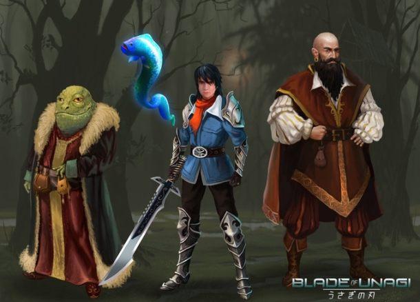 Blade of Unagi | Heroes