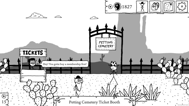West of Loathing |Petting Cemetery