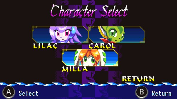 Freedom Planet | Character Screen