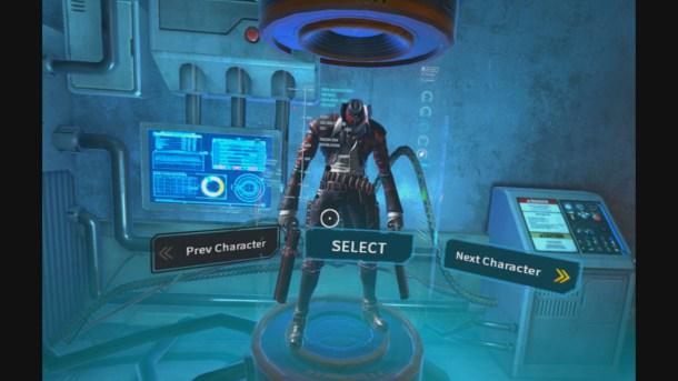Gungrave VR | Character Select