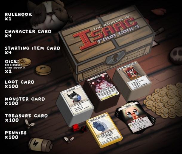 The Binding of Isaac: Four Souls   base kit