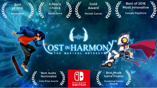 Lost in Harmony | Banner