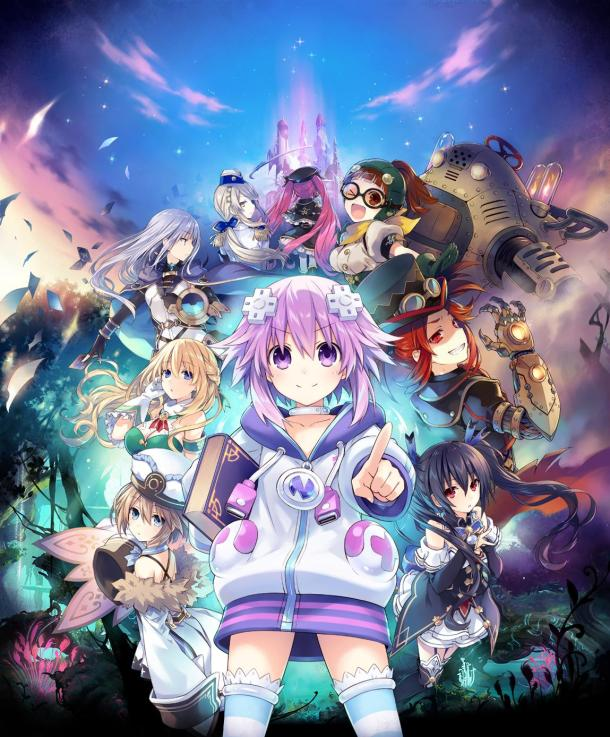 Super Neptunia RPG | Key Art