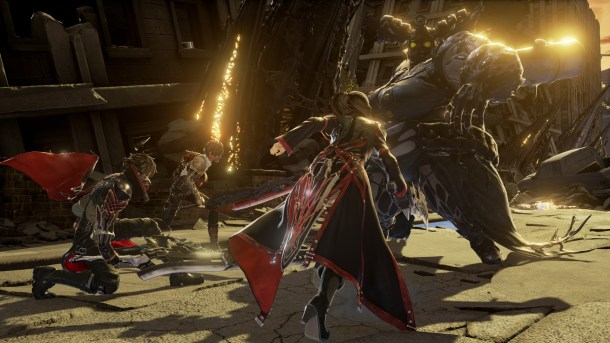 Code Vein | Charge-in