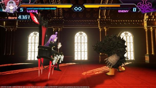 Death end re;Quest | Battle - 4