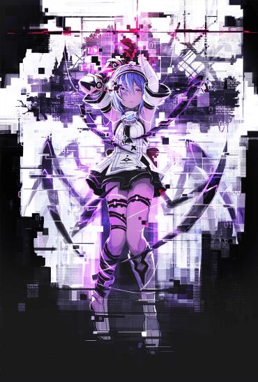 Death end re;Quest - Key Art