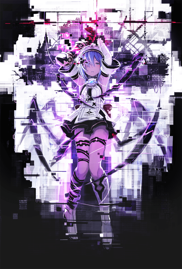 Death end re;Quest - Key Art