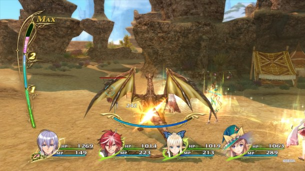 Shining Resonance Refrain | Dragon combat