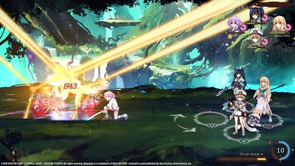 Super Neptunia RPG | Battle