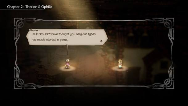 Octopath Traveler Party Chatter