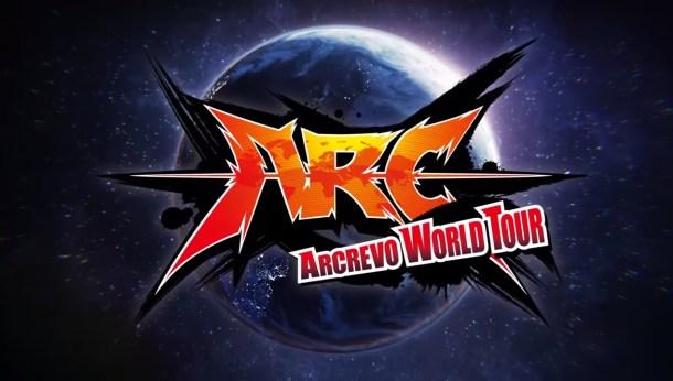 ARCREVO World Tour Announcement title