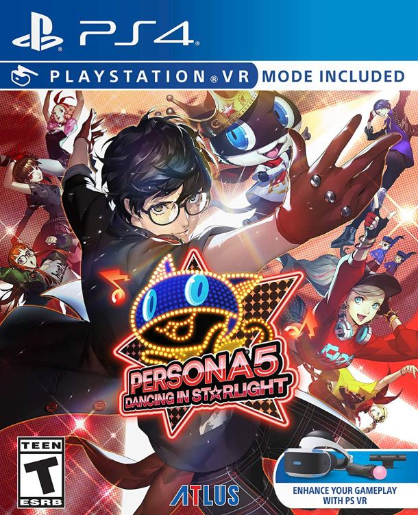 Persona 5: Dancing in Starlight | PS4 Cover Art