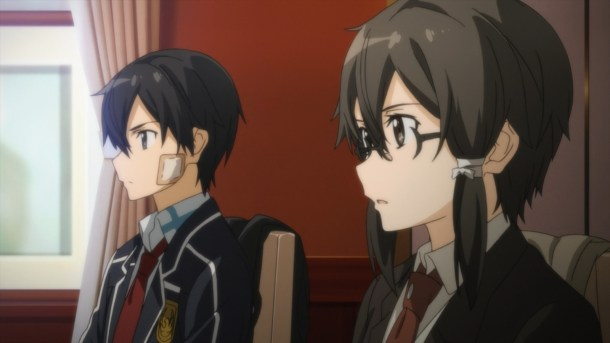 Sword Art Online II | Sinon and Kirito