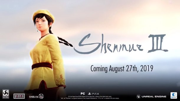 Shenmue 3 | Release Date