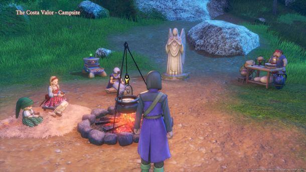 Dragon Quest XI Campsites
