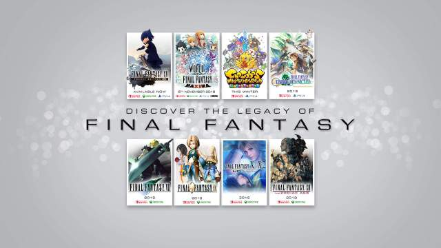 Final Fantasy Direct announcements