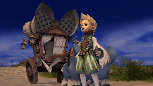 Final Fantasy Crystal Chronicles Remastered Screen