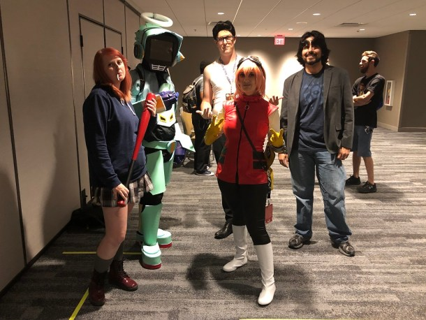 Dragon Con | FLCL Cosplay