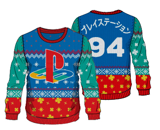 Playstation: 12 Days of Play sweater