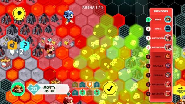 Insane Robots   Board gameplay