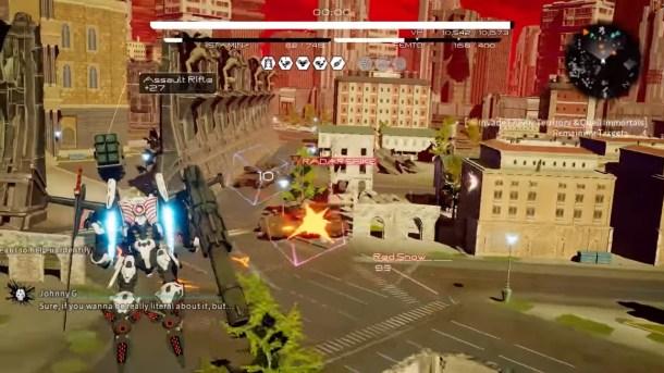 Daemon X Machina | City combat