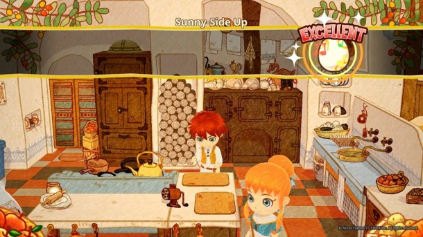 Little Dragon's Cafe | Cooking mini-game