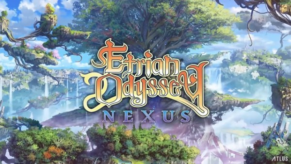 Etrian Odyssey Nexus | Logo Art