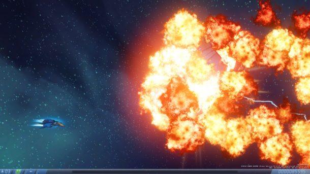 Rigid Force Alpha   Boss Explodes