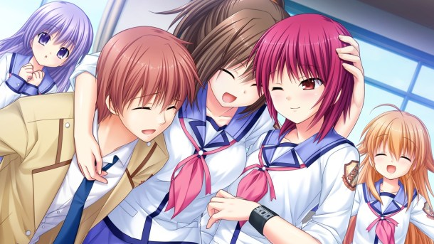 Angel Beats! | Girls Dead Monster together