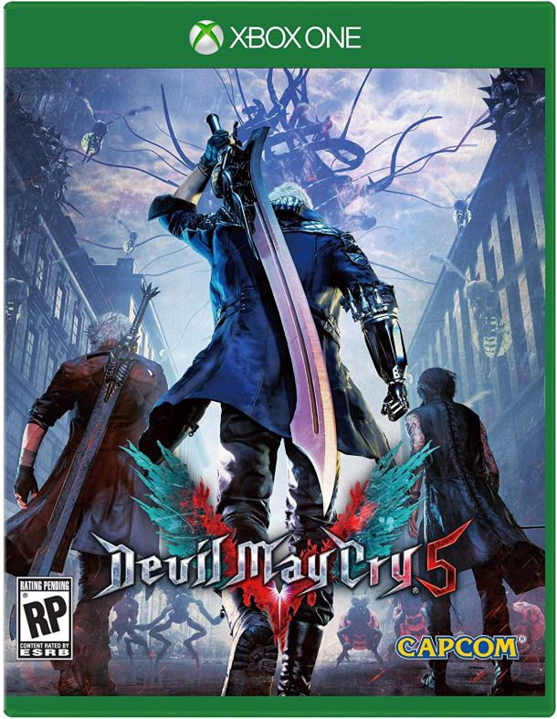 Devil May Cry 5 | Xbox One Box Art